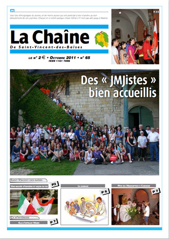 couverture du journal paroissial